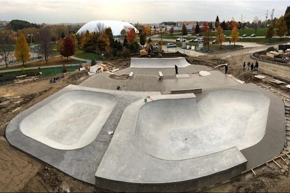 Skatepark Aurora Ontario