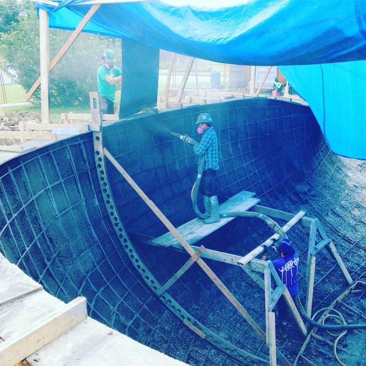 Propour Concrete Shotcrete Dartmouth Skatepark